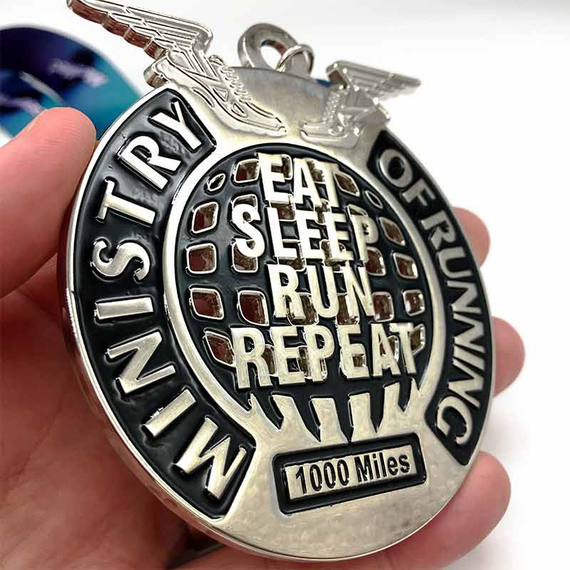 2020 Ministry of Running 1000 Miles Challenge Image