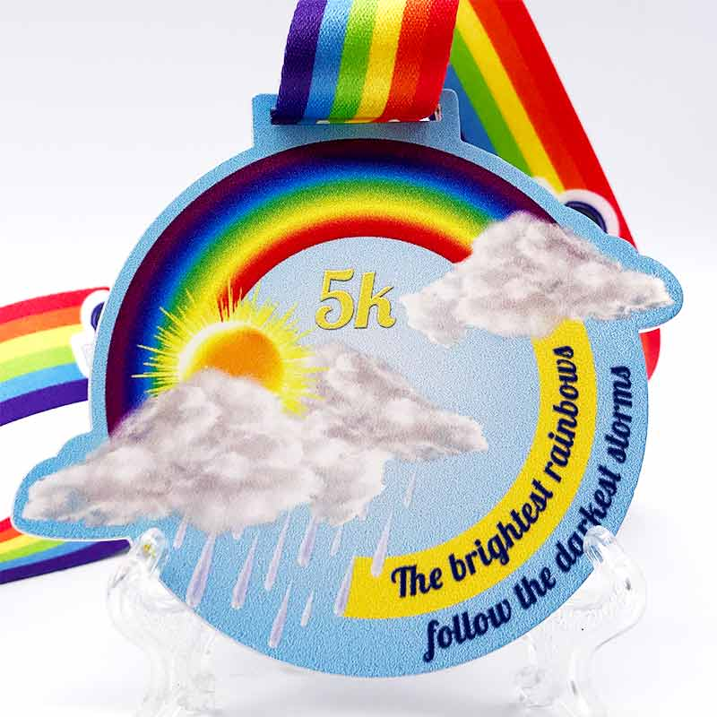 The Brightest Rainbow 5KM Challenge 2020 Image