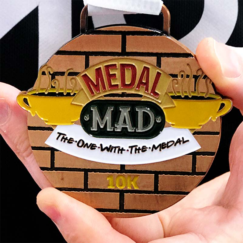 The One With the Medal 10km Dec 2020 Image