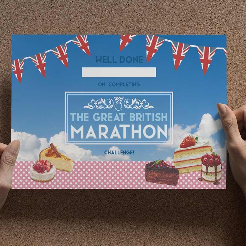 The Great British Marathon Challenge