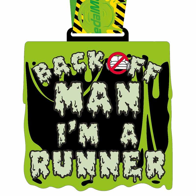 Back Off Man! I'm a Runner 10KM 2020 Image