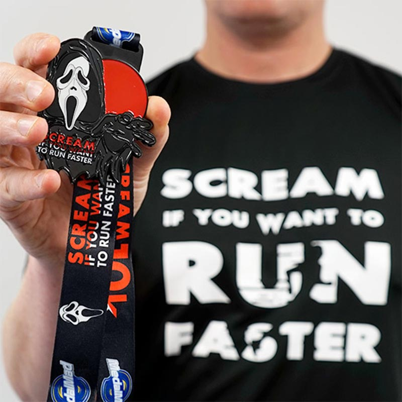 Scream If You Want to Run Faster 10K 2020 Image