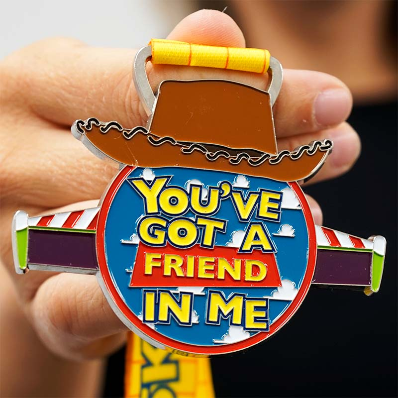 Completed the You've Got a Friend 5KM Challenge