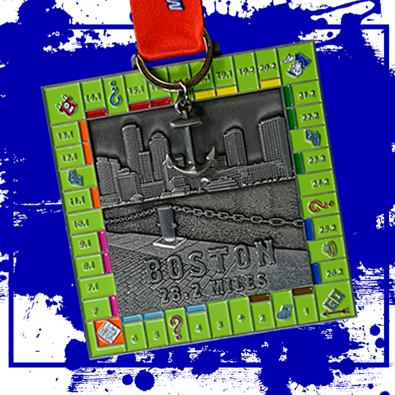 Completed the Boston Marathon Challenge