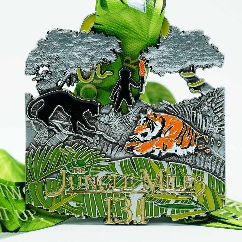 Completed the Jungle Miles 13.1 Challenge