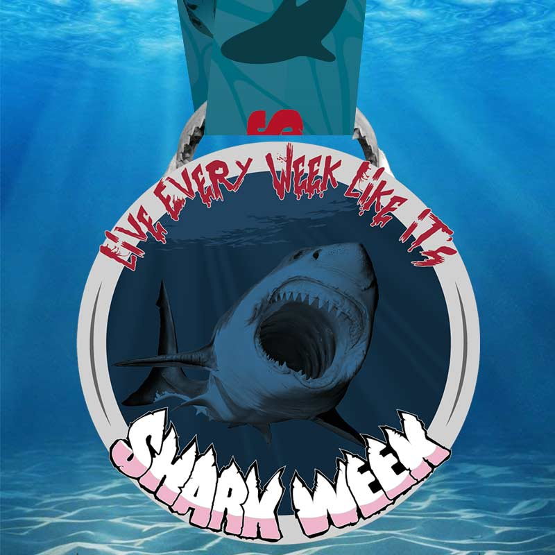 Completed Shark week 10km challenge