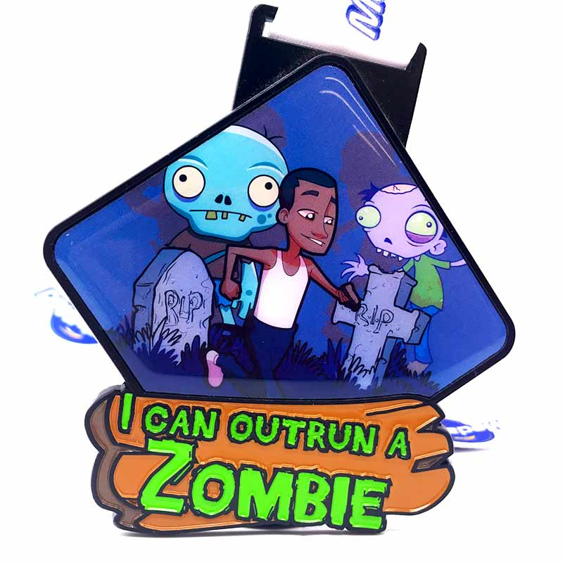 Completed I Can Outrun a Zombie 5KM Challenge 2020