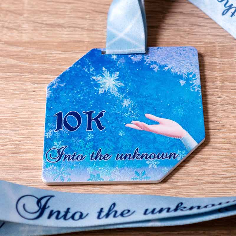 Completed the Into the Unknown 10KM Challenge 2020