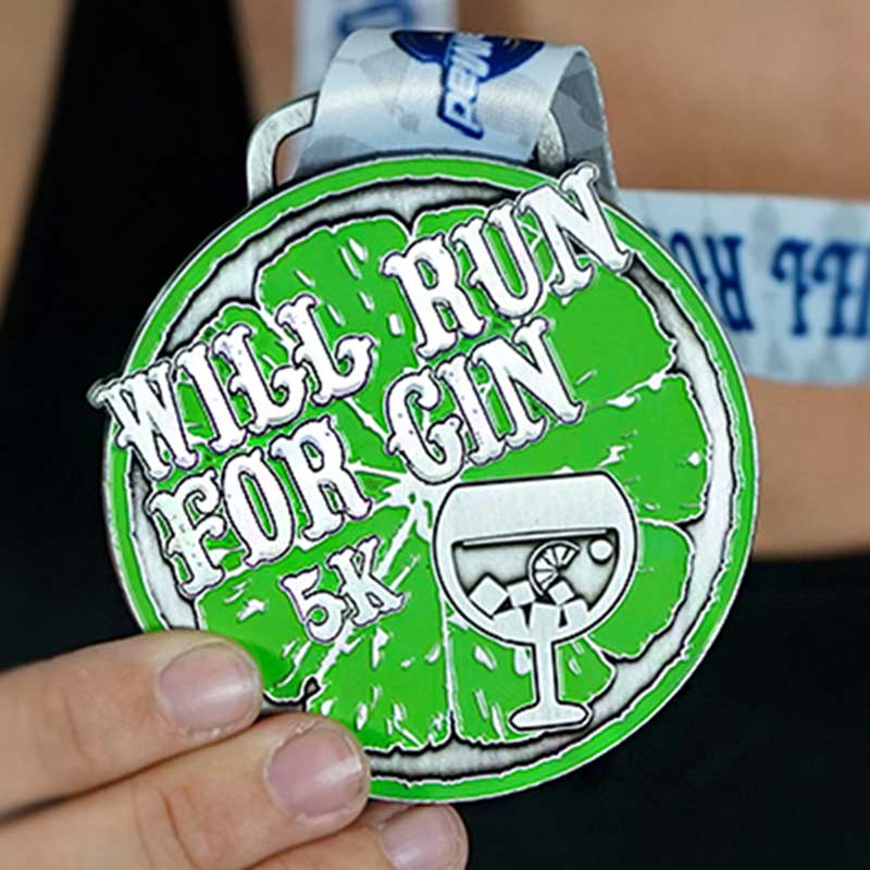 Completed the Will Run for Gun 5k Challenge