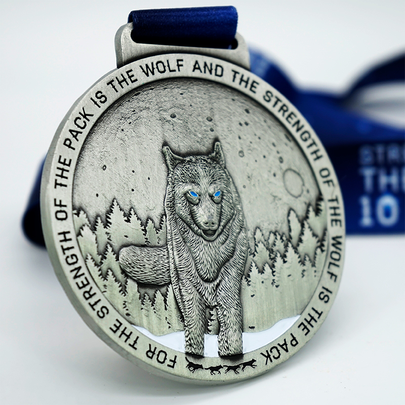 Completed Strength of The Wolf 10 mile challenge